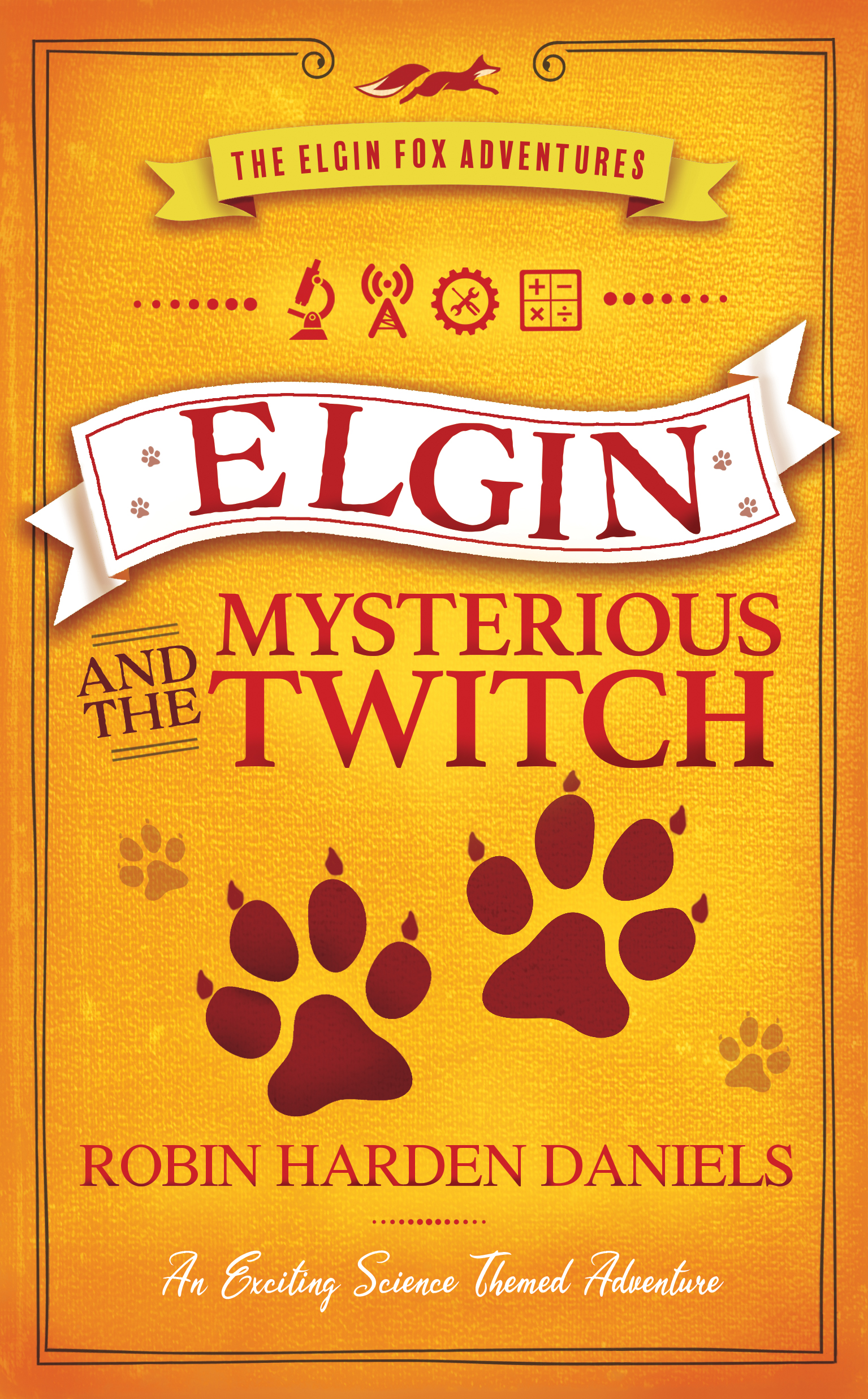 Cover image for Elgin and the Mysterious Twitch